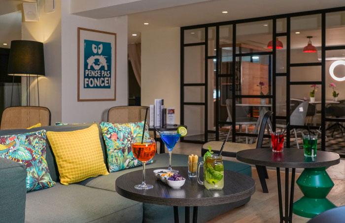 Bar Lounge hôtel Mercure - Marseille Centre Prado Vélodrome